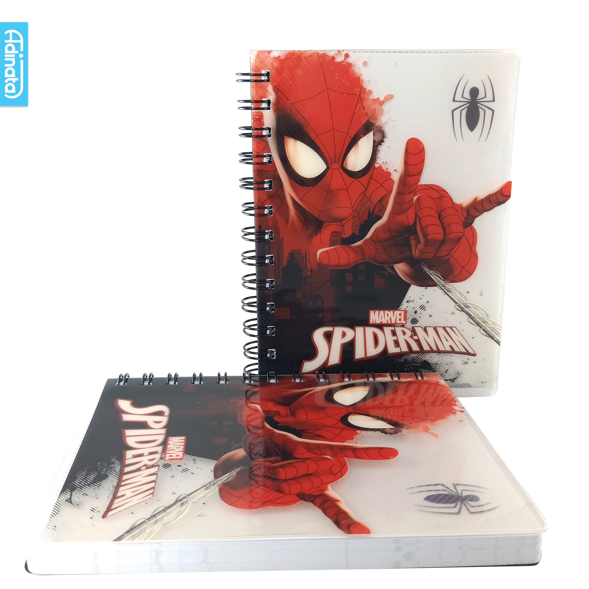 SpiderMan Grey B6 Notebook - Adinata
